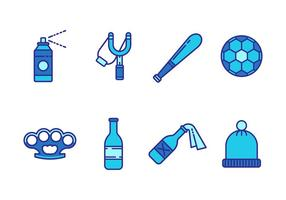 Free Hooligan Object Vector Icons