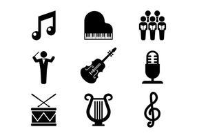 Kostenlose Chor Vektor Icons