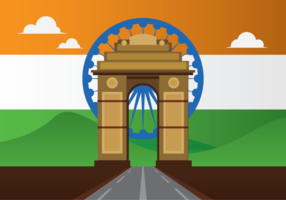 Indien Gate Vector