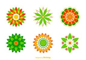 Free Vector Rangoli Designs