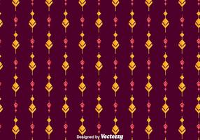 Ethnic Songket Ornament Pattern