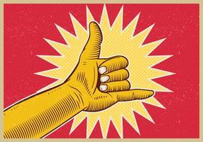 Shaka Sign Gesture