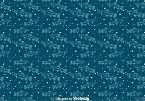 Trout Seamless Pattern