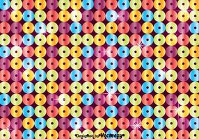 Fundo de lantejoulas coloridas com espuma