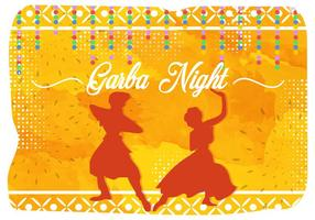 Illustrazione di Garba Night India Party