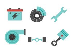 Free Car Parts Vector