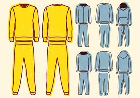 Blank Sweat Anzug