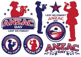 Anzac dag labels
