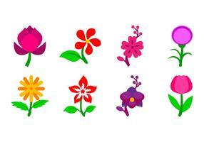 Icono de flor libre Vector
