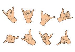 Free Shaka Icons Vector