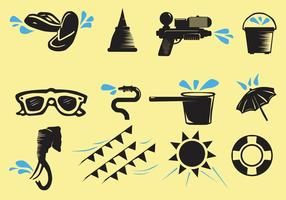 Songkran Pictogram