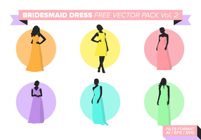 Bridesmaid Free Vector Pack Vol. 2