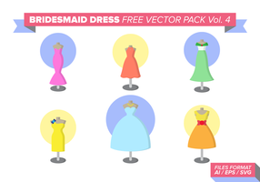 Bridesmaid Free Vector Pack Vol. 4