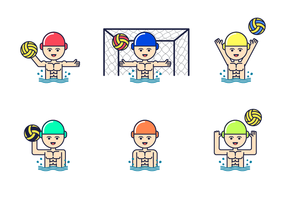 Gratis Waterpolo Vector
