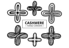 Free Cashmere Pattern  vector