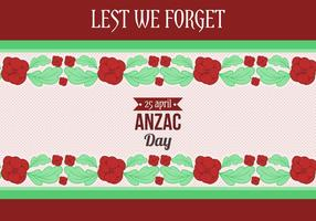 Free Vector Anzac Day