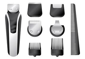Free Hair Clippers Icons Vektor
