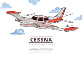Free Cessna Background vector