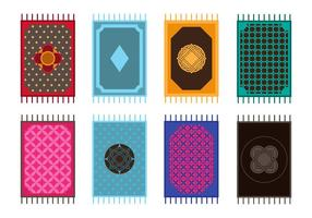 Free Various of Magic Carpet Vectors