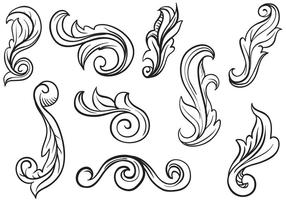 Free Scrollwork Vectors