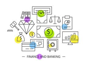 Free Banking Icons vector