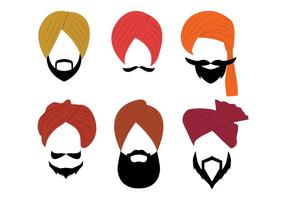 Turbante vector