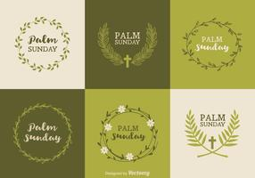 Gratis Palm Sunday Vector Designs