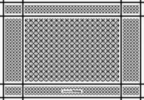 Keffiyeh vector de fondo de patrón
