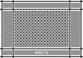 Keffiyeh Vektor Muster Hintergrund