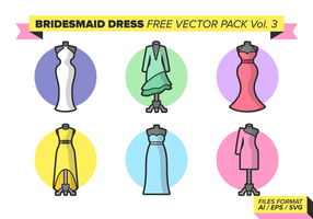 Bridesmaid Free Vector Pack Vol. 3