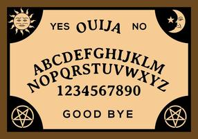 Vector Gratis Junta Ouija