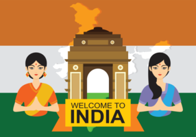 India Gate Vector Illustratie