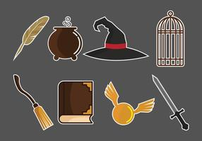 Hogwarts Vector Pack