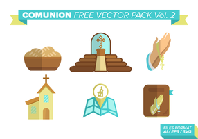 Paquet vectoriel libre de communion vol. 2