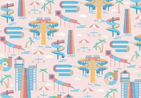 Water Slide Pattern Vector