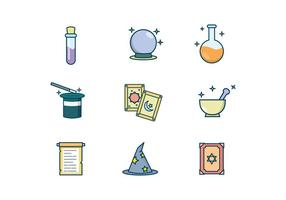 Kostenlose Magic Items Vector