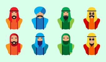 Arabic People Icon Vector