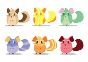 Chinchilla Vector Set