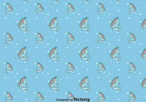 Rainbow Trout Blue Pattern
