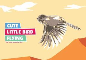 Leuke Kleine Vogel Vector