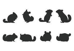 Silhouette du chinchilla