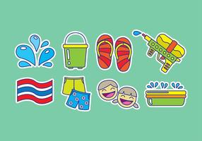 Songkran Icons