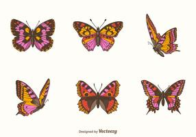 Free Papillon Vector Set