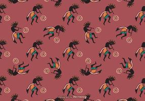 Free Kokopelli Trickster Vector Background