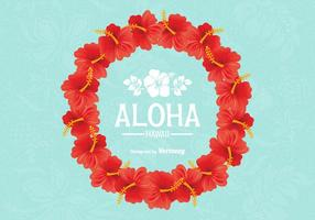 Free Vector Hawaiian Lei Design