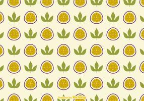Free Passion Fruit Vector Background