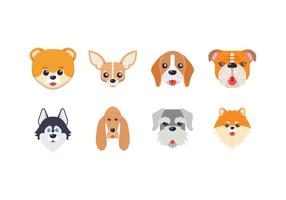 Free Dog Head Vector