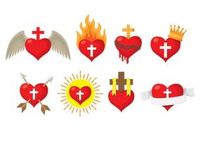 Sacred Heart Icons