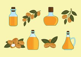 Argan Vector Iconos