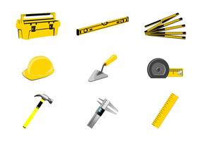 Vector de herramientas de mano